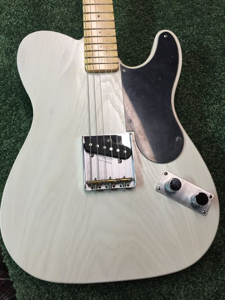 49 Snakehead Telecaster Replica | Ash body, General Finish White Milk Paint with a clear coat