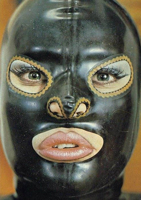 Remember these latex masks?
