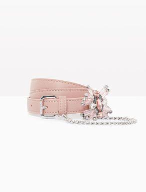 Cintura con bijou staccabile