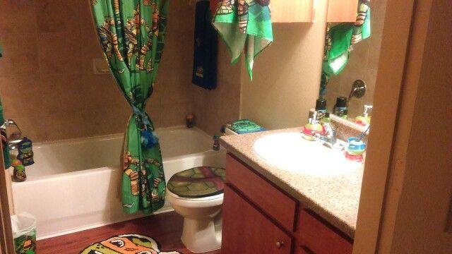 Turtle Bathroom Decor: Best 25+ Ninja Turtle Bathroom Ideas On Pinterest