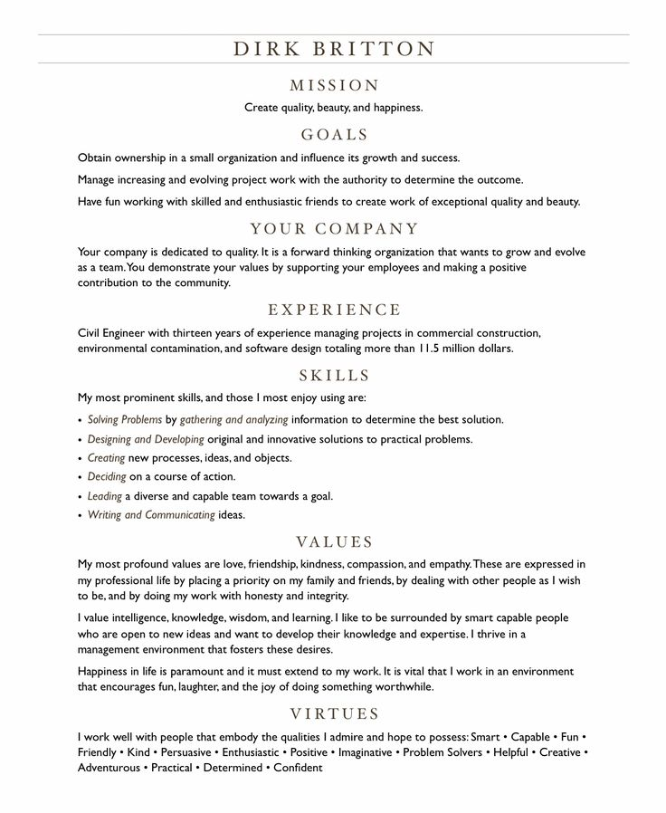 25+ unique Good resume objectives ideas on Pinterest Graduation - bartending resume template