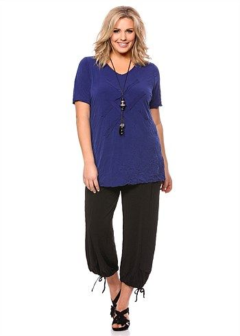 #TS Effortless Traveller Top #plussize #curvy #takingshape