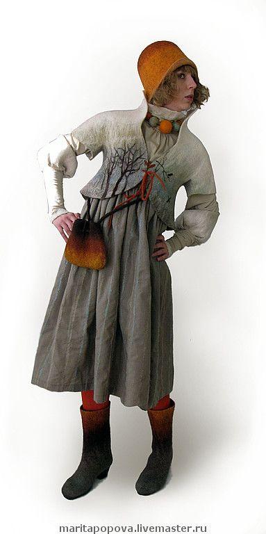 """Пиджаки, жакеты ручной работы. Ярмарка Мастеров - ручная работа валяный жакет """"Светлое"""". Handmade."""
