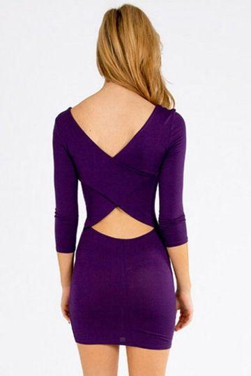 17 best ideas about Purple Long Sleeve Dress on Pinterest | Long ...