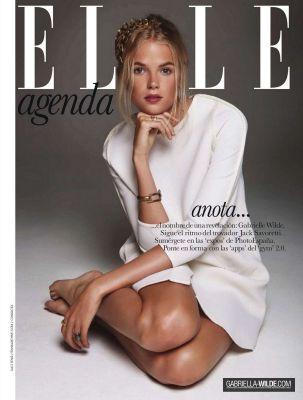 Gabriella Wilde ELLE Spain