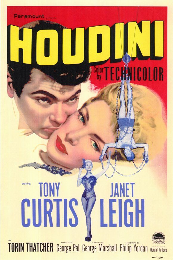 Houdini movie poster