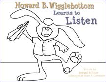 The We Do Listen Foundation   Color Me Howard Personalized Coloring Pages