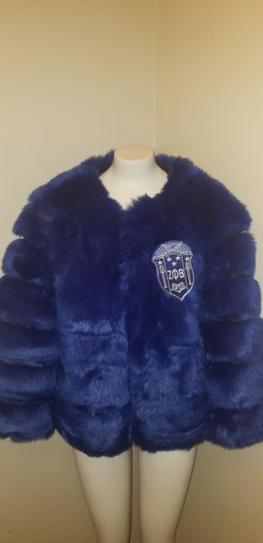 96530bfc Faux Fur Jacket- Sorority Style | Sorority Greek apparel and accessories