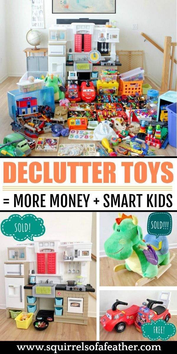 Declutter Toys And Make Your Kids Smarter With The Konmari