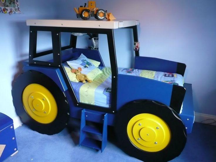 Kinderbett selber bauen traktor  Die 15 besten Bilder zu Kinder auf Pinterest | Bildideen ...