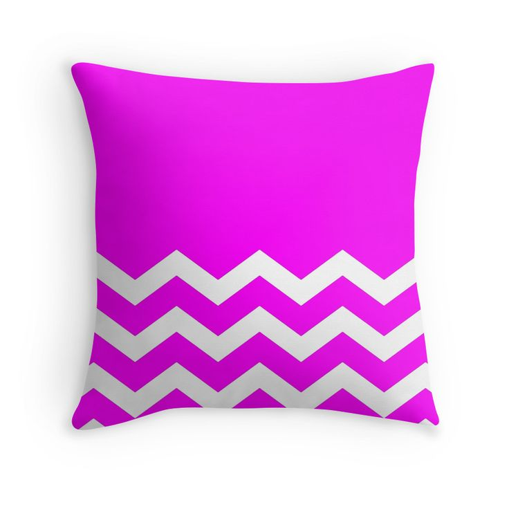 Beautiful Cushions/Chevron/ Pink White