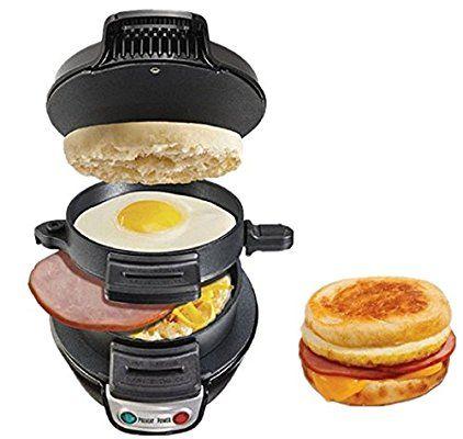 GMM Machine électrique à hamburger viande Oeuf de petit déjeuner Hot Dog Sandwich Maker Cuit ufs Grille-Pain