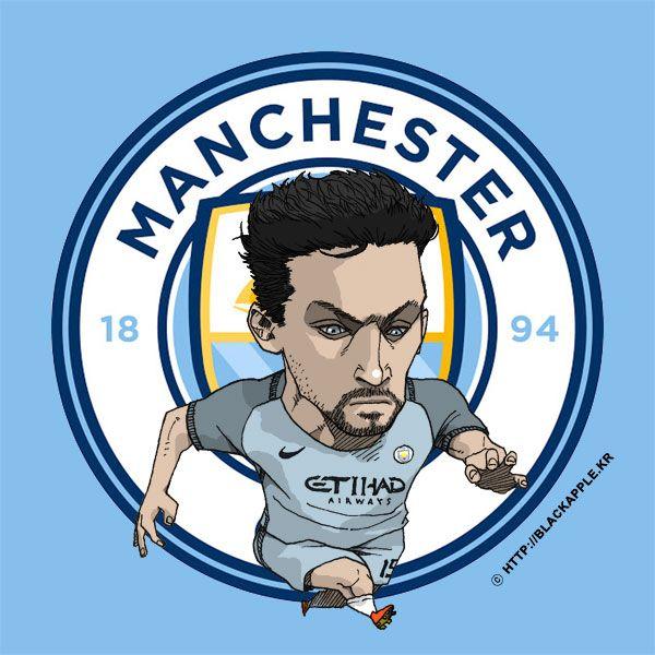 Manchester City No.15 Jesus Navas Fan Art