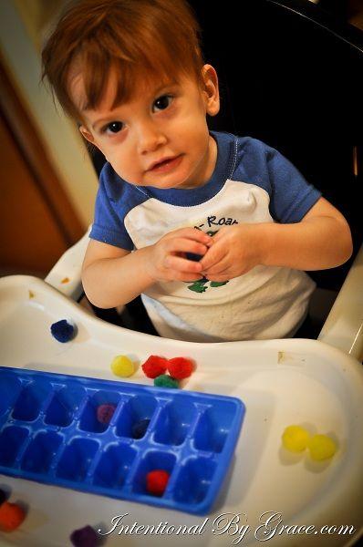 12 Indoor Toddler Activities {12-18 months}