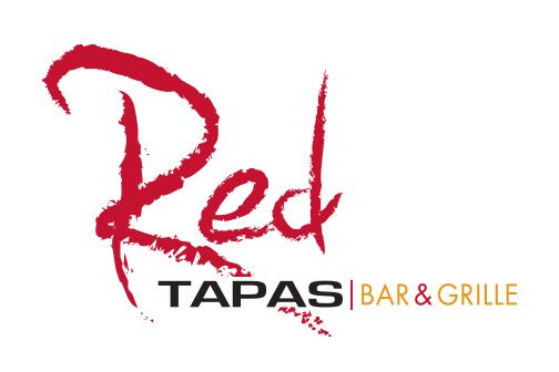 Red Tapas   Bar & Grill logo design