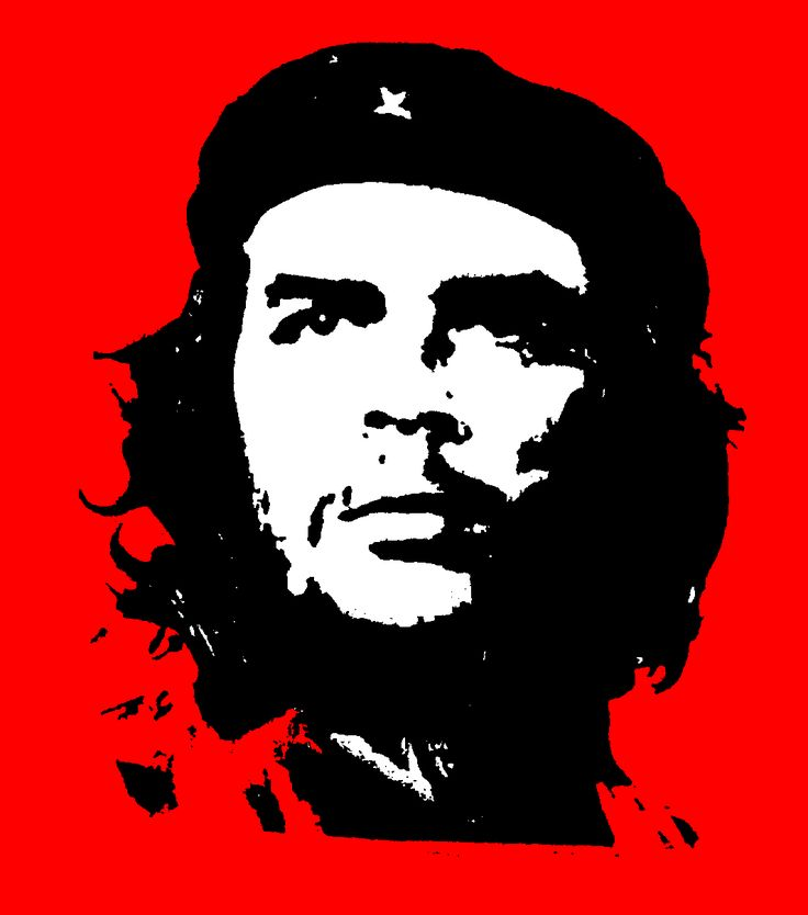 Che Guevera (1928-1967) Argentine Marxist Revolutionary.  Advocate of Communist and Anarchist philosophies ~ hmmmmm, DEFINITELY not a good guy!