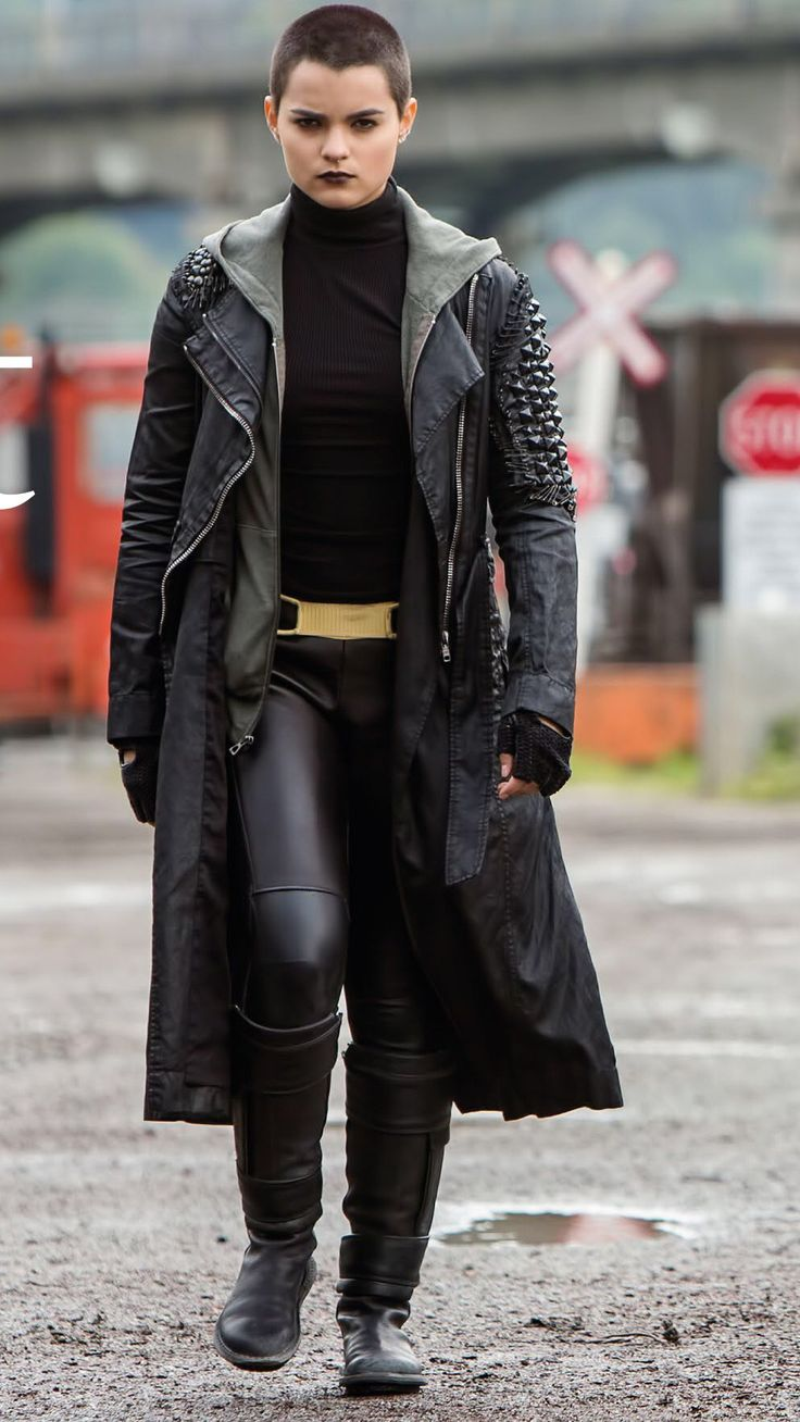 Deadpool - Negasonic Teenage Warhead Costume Leather Fashion Valley Providing custom services in movie replica costumes, leather jackets, pants, long coat, casual jackets and gloves. feel free to contact with us for perfect movie replica costume. email:leatherfashionsvalley@gmail.com web:www.leatherfashionvalley.com