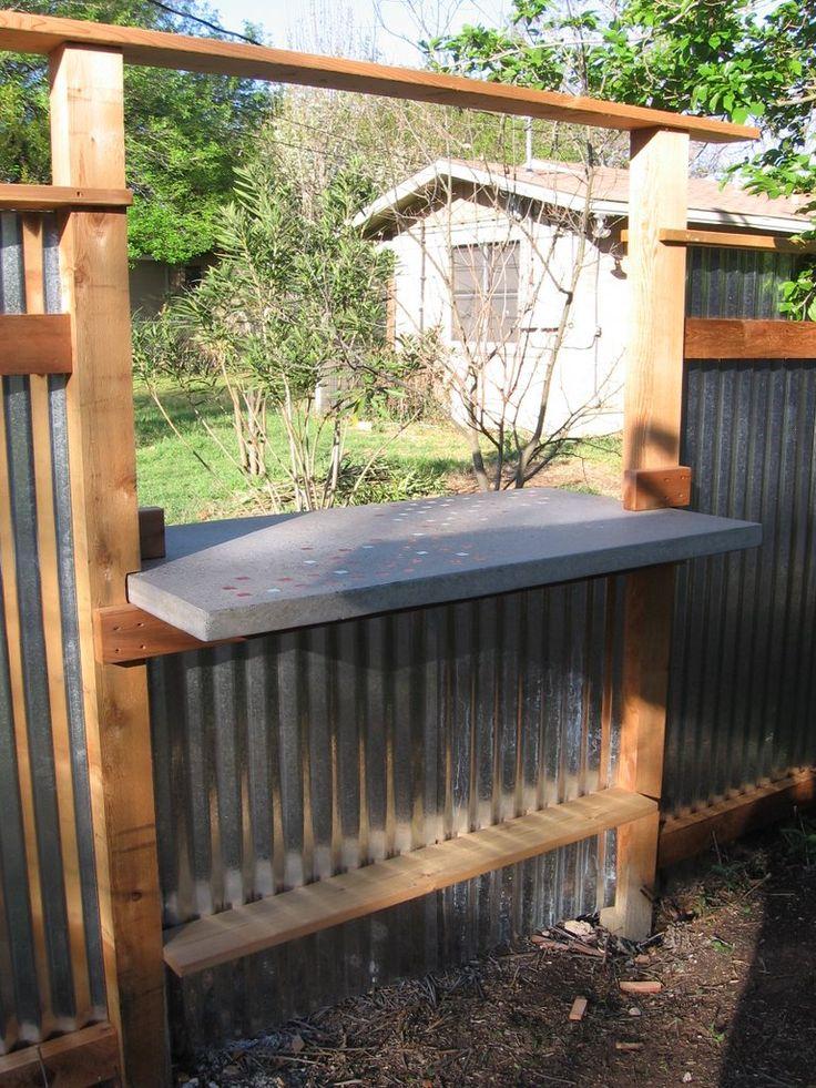 diy outside bar outdoor bar diy gardening inspiration