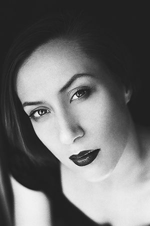 film black and white portret by Anna Gricevskaya