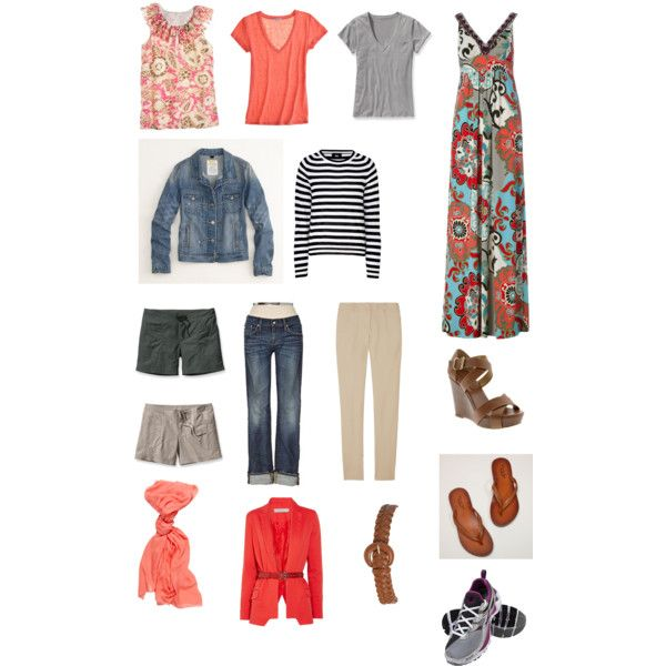.......Casual Travel Wardrobe
