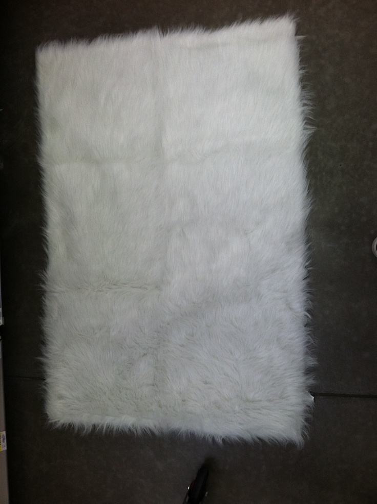 Your Zone Plush Rush Flokati Rug 30x46 19 96
