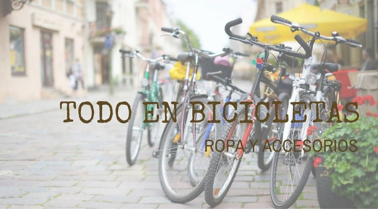 Bicicletas de ruta, montaña y urbanas para hombre y mujer.