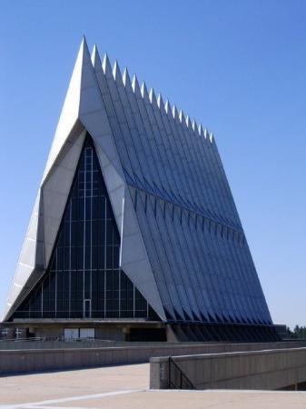 United States Air Force Academy Citadel. Colorado Springs, Colorado.