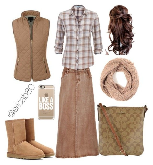 Beige Fall/Winter Outfit