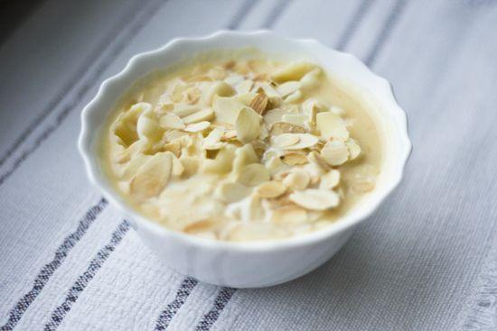 Migdałowa zupa z dyni