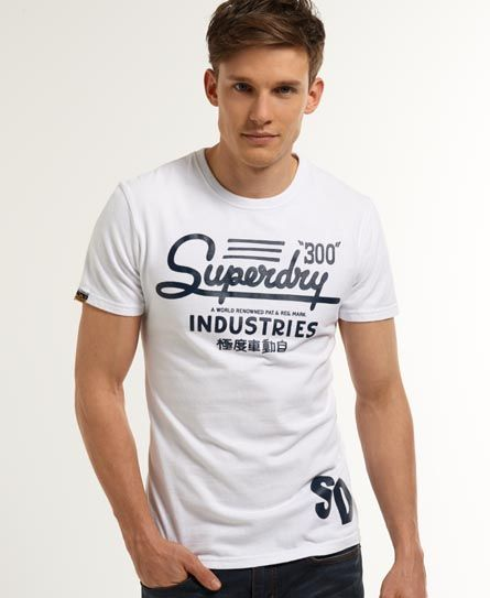 """極度乾燥しなさいのアイテム メンズ Tシャツ どっちから読めばいいのかわからない""""極度車動自"""""""