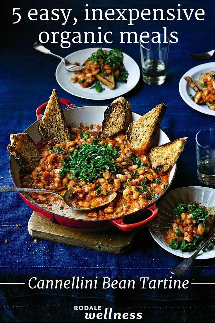 """Fast, cheap, and cheerful"" Cannellini Bean Tartine recipe"