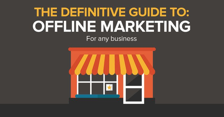 In the digital age, it's easy to forget about the importance of offline marketing. Your physical ads in the real world can be just as important as your online activities. This resource from Romax is an ultimate checklist for your offline marketing efforts.