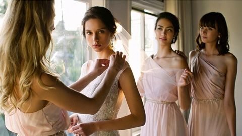 Bridesmaid Dress Rentals!  This is genius!  Men rent tuxedos, why can't women rent dresses?