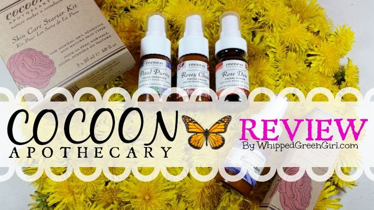 Cocoon Apothecary #Review (all-natural, #organic, plant-based ingredients!) By WhippedGreenGirl.com