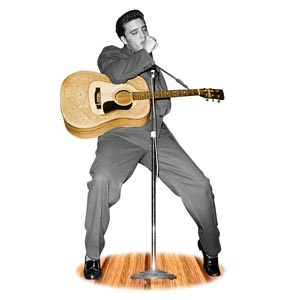 Elvis Presley Lifesize Cardboard Standup