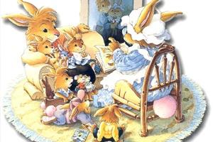 La Famille Passiflore - The Beechwood Bunny Tales Geneviève Huriet