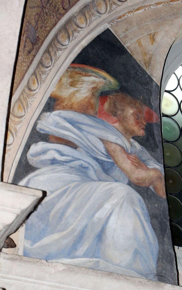 Lorenzo lotto, storie di maria, 1525, annunciazione 1.JPG