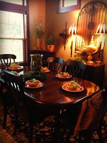 The Tuscan Home: Tuscan Dining Room