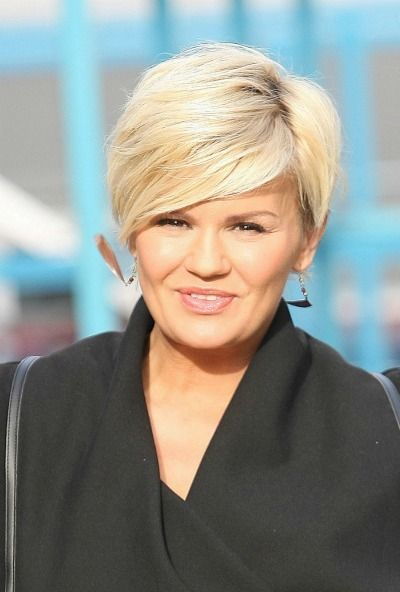 Hairstyles For Round Faces Hair Short Hair Styles For