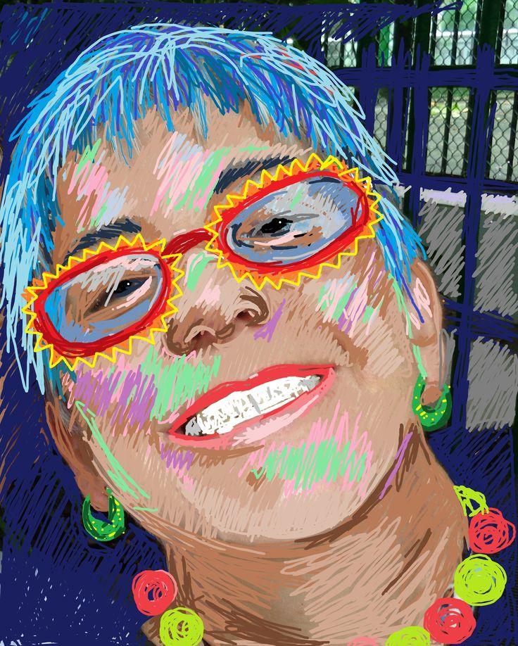 self portrait Virginia Moran