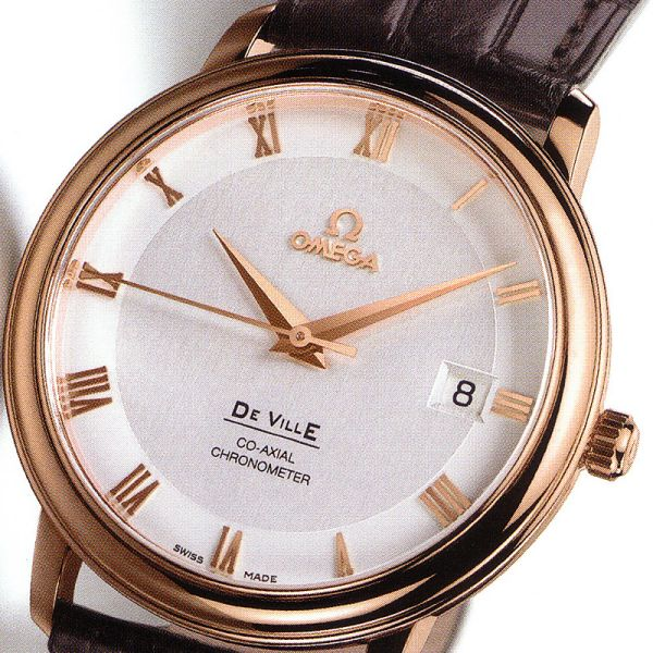 Women's omega rose gold watch