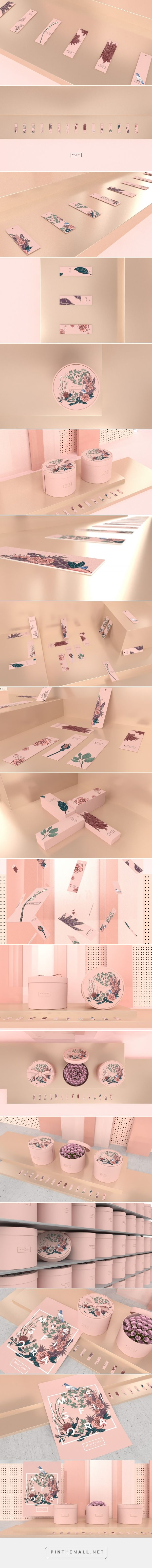 Miss Flora Florist Packaging by Hellocean | Fivestar Branding Agency – Design and Branding Agency & Curated Inspiration Gallery  #floristbranding #florist #branding #brand #packaging #design #designinspiration