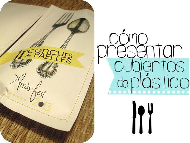 Cómo vestir mesa de Picnic (o tunear cubiertos de plástico) - Handbox | Craft Lovers