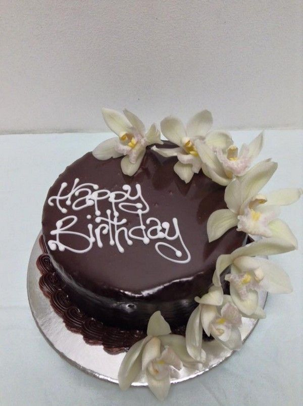 Orchid Cascade - The Chocolate Cake Company