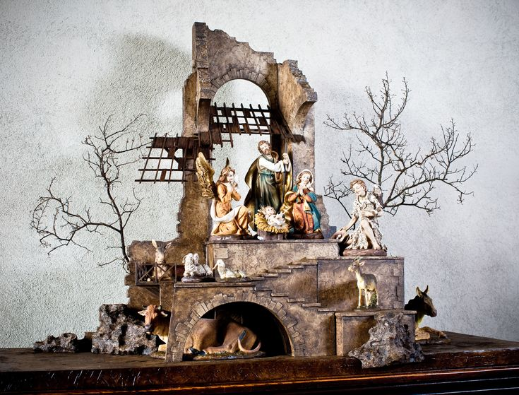 christmas creche by mcalpine tankersley