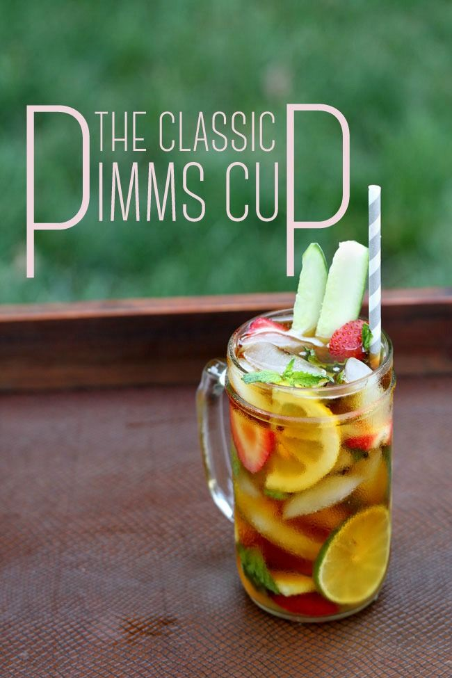 Perfect Pimm's Cup Recipes — Dishmaps