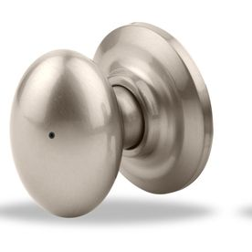 Yale Security Yh Dartmouth Satin Nickel Egg Push Button-Lock Privacy Door Knob 20Dm15