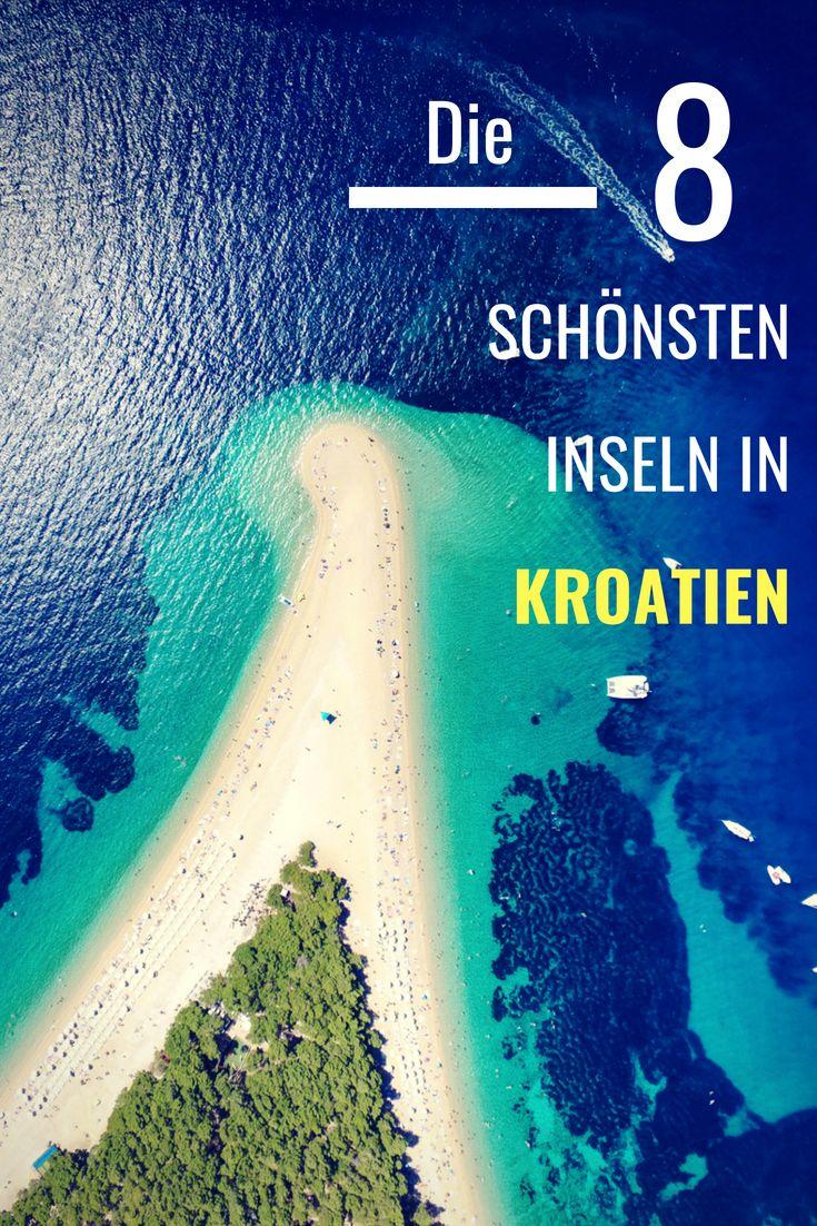 Kroatische Inseln: Die 11 schönsten Inseln Kroatiens 2019 (inkl. Karte)