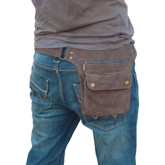 Traveler's Utility Belt aka cool fanny pack