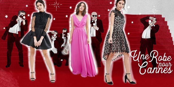Sélection Shopping : Une robe pour le Festival de Cannes 2017 à moins de 60€ - http://www.mademoisellestef.com/shopping-robe-festival-cannes-2017/